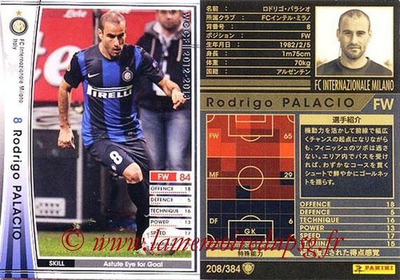 2012-13 - WCCF - N° 208 - Rodrigo PALACIO (Inter Milan)