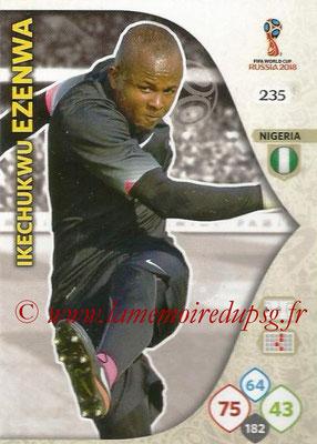 2018 - Panini FIFA World Cup Russia Adrenalyn XL - N° 235 - Ikechukwu EZENWA (Nigeria)