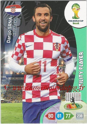 2014 - Panini FIFA World Cup Brazil Adrenalyn XL - N° 195 - Darijo SRNA (Croatie) (Utility Player)