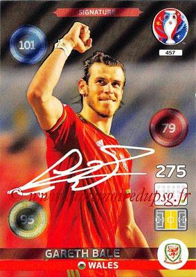 Panini Euro 2016 Cards - N° 457 - Gareth BALE (Pays de Galles) (Signature)