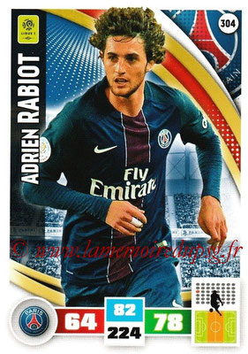 2016-17 - Panini Adrenalyn XL Ligue 1 - N° 304 - Adrien RABIOT (Paris Saint-Germain)
