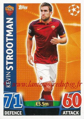 2015-16 - Topps UEFA Champions League Match Attax - N° 441 - Kevin STROOTMAN (AS Roma)