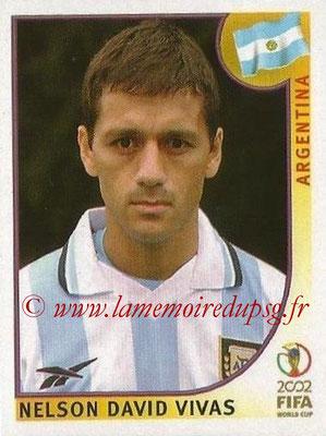2002 - Panini FIFA World Cup Stickers - N° 388 - Nelson David VIVAS (Argentine)