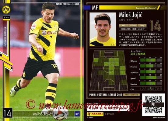 Panini Football League 2015 - PFL13 - N° 071 - Milos JOJIC (Borussia Dortmund)