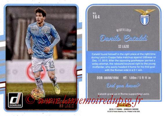 2016 - Panini Donruss Cards - N° 164 - Danilo CATALDI (SS Lazio)