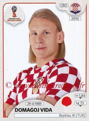 2018 - Panini FIFA World Cup Russia Stickers - N° 318 - Domagoj VIDA (Croatie)