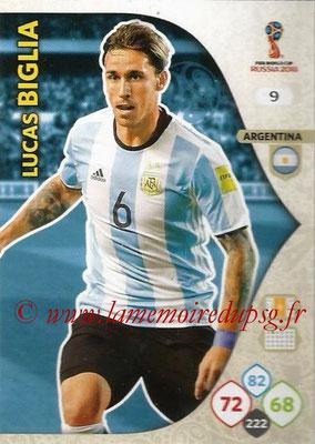 2018 - Panini FIFA World Cup Russia Adrenalyn XL - N° 009 - Lucas BIGLIA (Argentine)