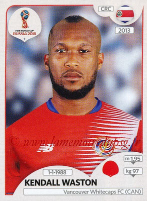 2018 - Panini FIFA World Cup Russia Stickers - N° 399 - Kendall WASTON (Costa Rica)