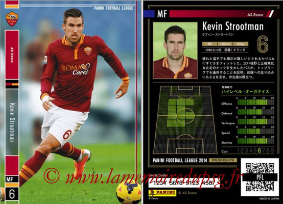 Panini Football League 2014 - PFL08 - N° 024 - Kevin STROOTMAN (AS Rome)
