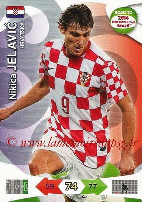 2014 - Panini Road to FIFA World Cup Brazil Adrenalyn XL - N° 107 - Nikica JELAVIC (Croatie)