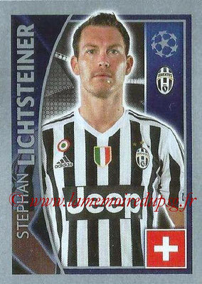 2015-16 - Topps UEFA Champions League Stickers - N° 237 - Stephan LICHTSTEINER (Juventus FC)