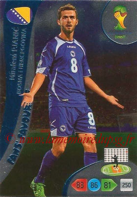 2014 - Panini FIFA World Cup Brazil Adrenalyn XL - N° 328 - Miralem PJANIC (Bosnie Herzégovine) (Fan's favorite)