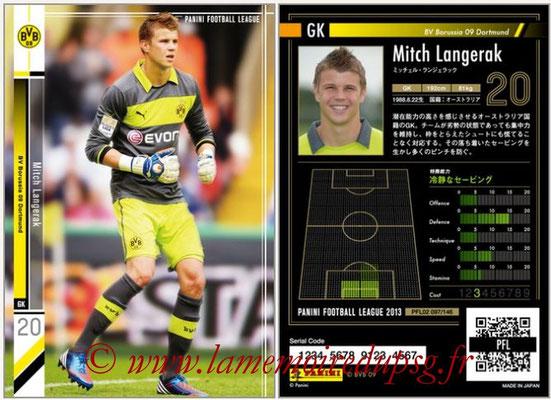 Panini Football League 2013 - PFL02 - N° 097 - Mitch Langerak ( BV Borussia 09 Dortmund )