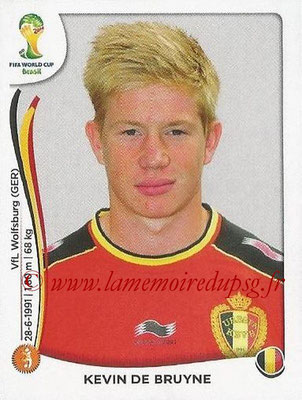 2014 - Panini FIFA World Cup Brazil Stickers - N° 575 - Kevin DE BRUYNE (Belgique)