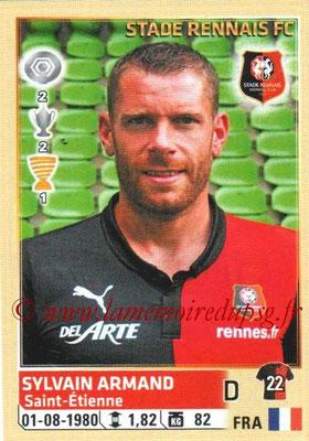 N° 415 - Sylvain ARMAND (2004-13, PSG > 2014-15, Rennes)