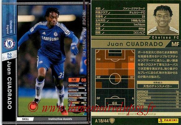 2013-14 - WCCF - N° A18 - Juan CUADRADO (Chelsea FC)