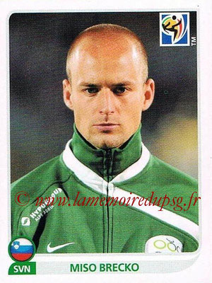 2010 - Panini FIFA World Cup South Africa Stickers - N° 243 - Miso BRECKO (Slovenie)