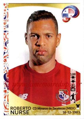 Panini Copa America Centenario USA 2016 Stickers - N° 373 - Roberto NURSE (Panama)