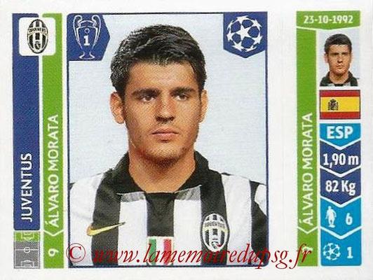 2014-15 - Panini Champions League N° 072 - Alvaro MORATA (Juventus Turin)