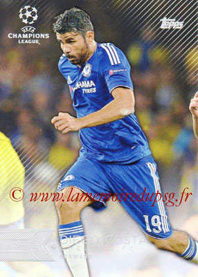 2015-16 - Topps UEFA Champions League Showcase Soccer - N° 163 - Diego COSTA (Chelsea FC)