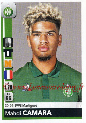 2018-19 - Panini Ligue 1 Stickers - N° 435 - Mahdi CAMARA (Saint-Etienne)