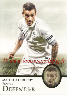 2013 - Futera World Football Unique - N° 016 - Mathieu DEBUCHY (France) (Defender)