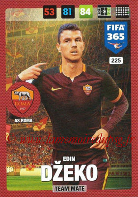 2016-17 - Panini Adrenalyn XL FIFA 365 - N° 225 - Edin DZEKO (AS Roma)