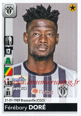 2018-19 - Panini Ligue 1 Stickers - N° 044 - Férébory DORE (Angers)
