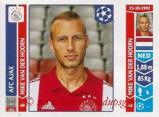 2014-15 - Panini Champions League N° 465 - Mike Van DER HOORN (AFC Ajax)