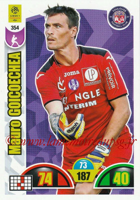 2018-19 - Panini Adrenalyn XL Ligue 1 - N° 354 - Mauro GOICOECHEA (Toulouse)