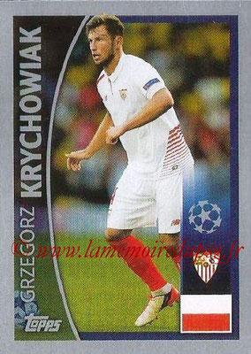2015-16 - Topps UEFA Champions League Stickers - N° 229 - Grzegorz KRYCHOWIAK (FC Seville)