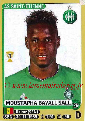 2015-16 - Panini Ligue 1 Stickers - N° 413 - Moustapha BAYALL SALL (AS Saint-Etienne)