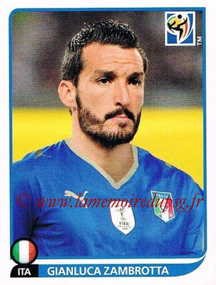 2010 - Panini FIFA World Cup South Africa Stickers - N° 416 - Gianluca ZAMBROTTA (Italie)