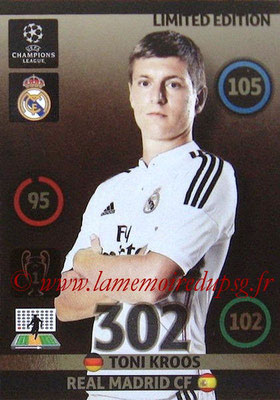 2014-15 - Adrenalyn XL champions League N° LE-TK - Toni KROOS (Real Madrid) (Limited Edition)