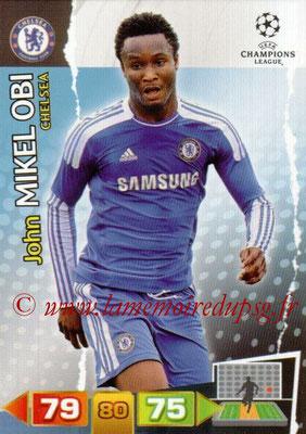 2011-12 - Panini Champions League Cards - N° 087 - John MIKEL OBI (Chelsea FC)