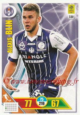 2017-18 - Panini Adrenalyn XL Ligue 1 - N° 330 - Alexis BLIN (Toulouse)
