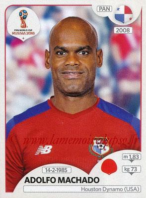 2018 - Panini FIFA World Cup Russia Stickers - N° 539 - Adolfo MACHADO (Panama)