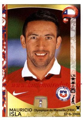 Panini Copa America Centenario USA 2016 Stickers - N° 335 - Mauricio ISLA (Chili)