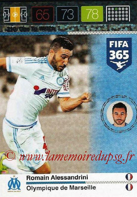 2015-16 - Panini Adrenalyn XL FIFA 365 - N° 210 - Romain ALESSANDRINI (Olympique de Marseille) (One to Watch)