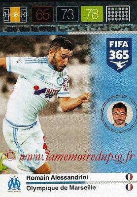 2015-16 - Panini Adrenalyn XL FIFA 365 - N° 210 - Romain ALESSANDRINI (Olympique de Marseille) (One to Watch)