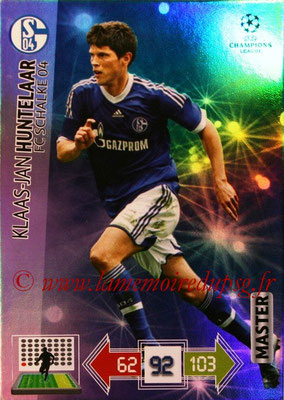 2012-13 - Adrenalyn XL champions League N° 345 - Klaas-Jan HUNTELAAR (FC Schalke 04) (Master)