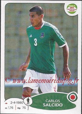 2014 - Panini Road to FIFA World Cup Brazil Stickers - N° 247 - Carlos SALCIDO (Mexique)