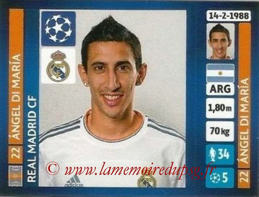 N° 097 - Angel DI MARIA (2013-14, Real Madrid, ESP > 2015-??, PSG)
