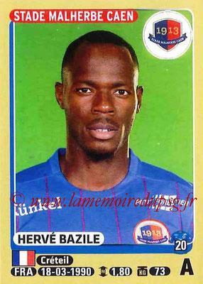 2015-16 - Panini Ligue 1 Stickers - N° 117 - Hervé BAZILE (SM Caen)