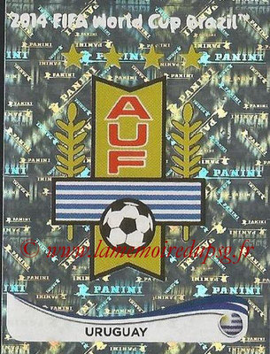2014 - Panini FIFA World Cup Brazil Stickers - N° 260 - Ecusson Uruguay