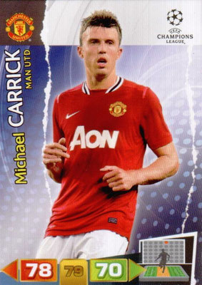 2011-12 - Panini Champions League Cards - N° 149 - Michael CARRICK (Manchester United FC)
