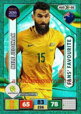 2018 - Panini Road to FIFA World Cup Russia Adrenalyn XL - N° AUS05 - Mile JEDINAK (Australie)