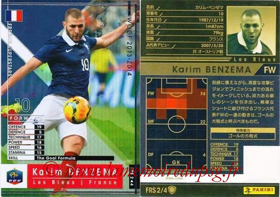 2013-14 - WCCF - N° FRS2 - Karim BENZEMA (France) (French Superstars)