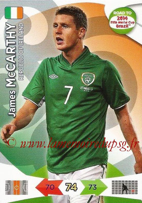 2014 - Panini Road to FIFA World Cup Brazil Adrenalyn XL - N° 113 - James McCARTHY (République d'Irlande)