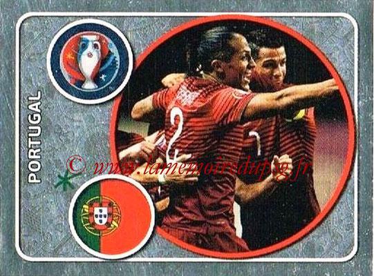 Panini Euro 2016 Stickers - N° 569 - Équipe du Portugal